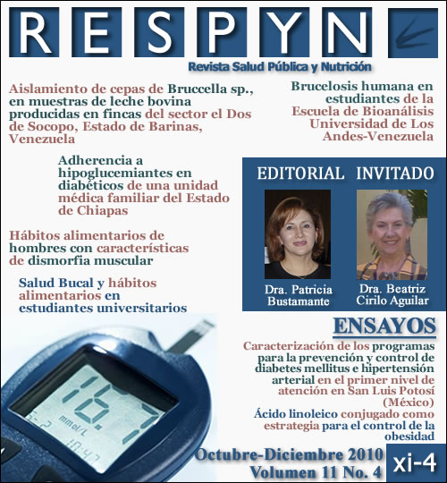 Ver Vol. 11 Núm. 4 (2010): OCT-DIC 2010