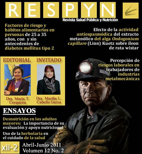 Ver Vol. 12 Núm. 2 (2011): ABR-JUN 2011