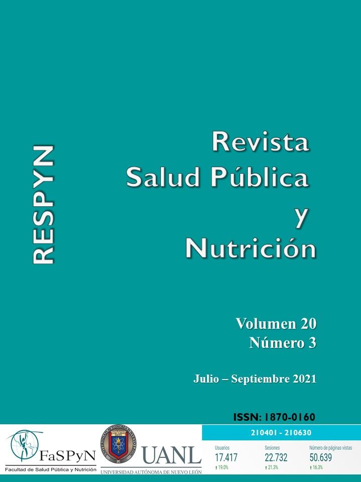 Ver Vol. 20 Núm. 3: JUL-SEP 2021